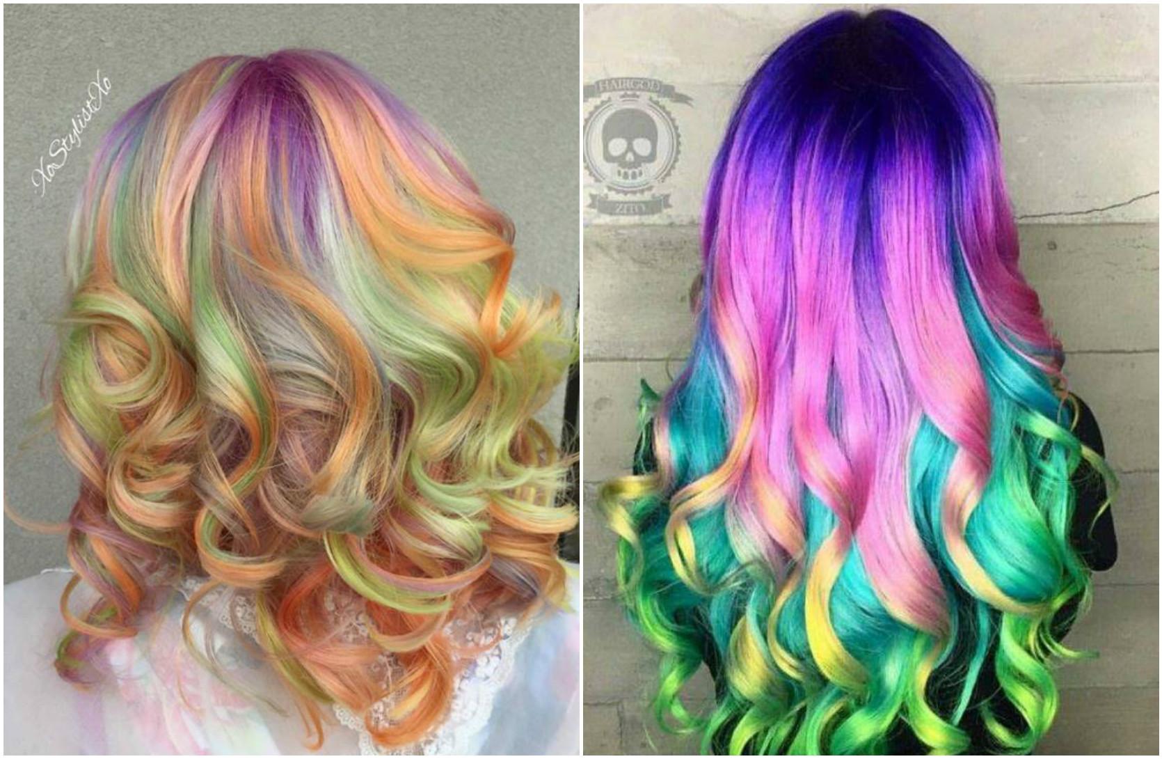 Culori pastelate pentru par