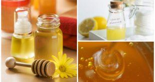 Demachiante si exfoliante naturale pe baza de miere