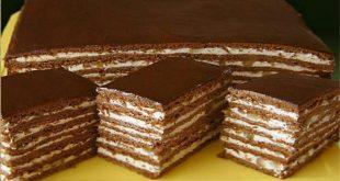 Reteta de tort cu cacao nuci si miere