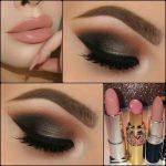 machiaj smokey eyes cu negru