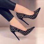Pantofi stiletto model seara