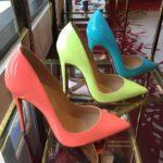 Pantofi stiletto culori pastelate