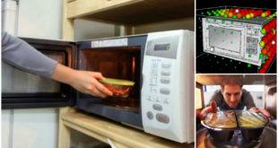 Folosirea cuptorului cu microunde este periculoasa