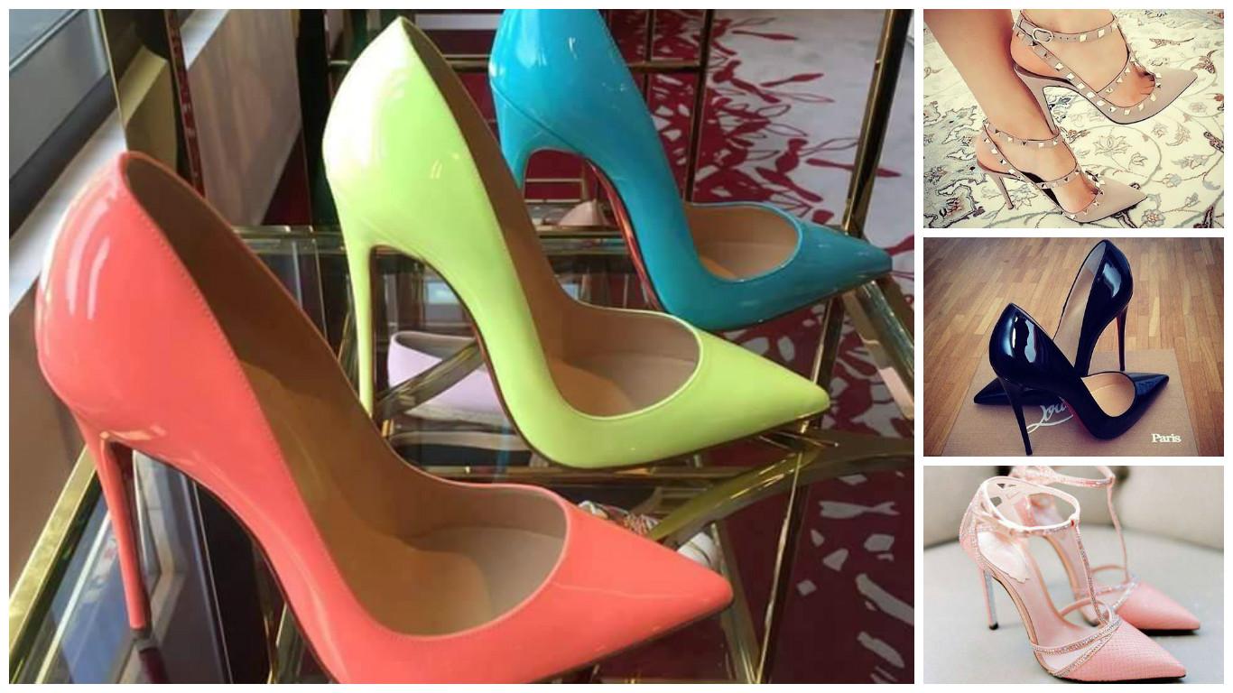 Modele pantofi stiletto mereu la moda