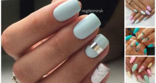 Modele unghii pastelate frumoase