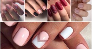 Modele unghii simple si frumoase