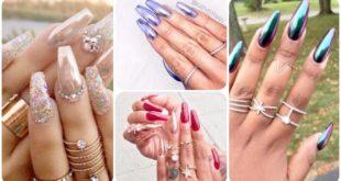 Modele unghii cu efect cromat