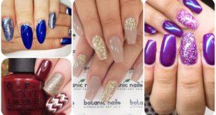 Modele unghii cu glitter