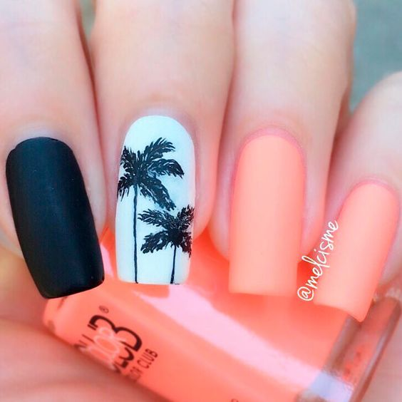 Unghii cu palmieri