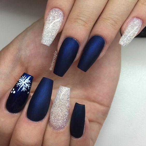 Modele unghii pentru iarna