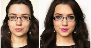 machiaj pentru fete cu ochelari